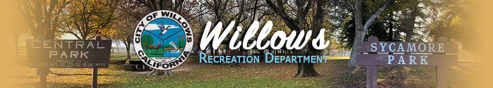 Willows Recreation Department